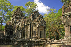 De tempel van Thommanon, Angkor gebied, Siem oogst, Kambodja Royalty-vrije Stock Fotografie