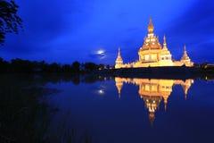 De tempel van Thungsetthi, Khon Kaen, Thailand Stock Afbeelding