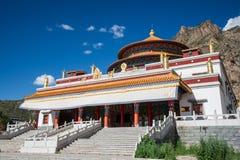 de tempel van Tibet Stock Foto