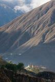 De tempel van Tibet Stock Afbeelding