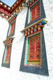 De tempel van Tibet in Zhongdian Royalty-vrije Stock Foto