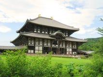De tempel van Todaiji Stock Foto