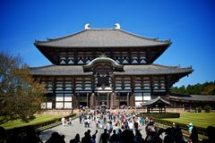 De Tempel van Todaiji Royalty-vrije Stock Foto