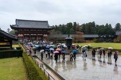 De Tempel van Todaiji Royalty-vrije Stock Afbeeldingen