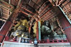 De Tempel van Todaiji (Nara, Japan) Stock Fotografie