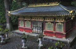 De Tempel van Toshogo, Nikko stock afbeeldingen