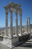 De Tempel van Trajan, Pergamon Stock Afbeeldingen