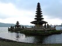 De tempel van Ulundanu, Bali Stock Afbeelding