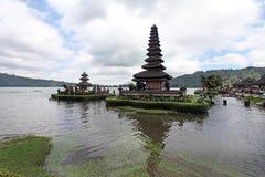 De tempel van Ulundanu, Bali Royalty-vrije Stock Foto