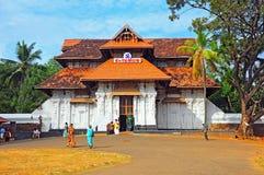De tempel van Vadakkunnathan, Kerala, India Stock Foto's