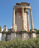 De tempel van Vesta royalty-vrije stock afbeeldingen