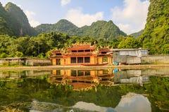 De tempel van Vietnam Stock Afbeelding