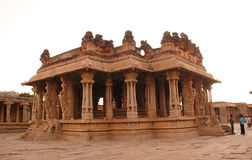 De tempel van Vitthala Stock Foto's
