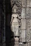 De tempel van Wat Bayon van Angkor Stock Afbeelding