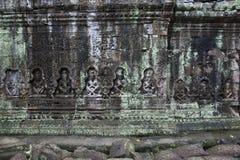 De tempel van Wat Preah Khan van Angkor Royalty-vrije Stock Afbeelding