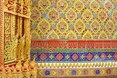 De tempel van Wat Rajabopit.The in Bangkok. Royalty-vrije Stock Afbeelding