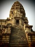 De Tempel van Wat van Angkor Stock Foto