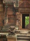 De tempel van Wat van Angkor stock afbeelding