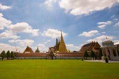 De tempel van Watphra kaew van smaragdgroene Boedha in Bangkok royalty-vrije stock foto
