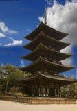 De tempel van Yakushiji Stock Afbeeldingen