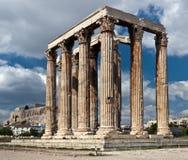 De Tempel van Zeus Stock Foto
