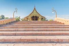 De Tempel Wat Phu Prao Thailand van Sirindhornwararam Phu Prao Royalty-vrije Stock Fotografie
