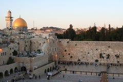 De tempel zet in Jeruzalem op Royalty-vrije Stock Afbeeldingen