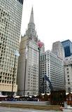 De de Tempelbouw van Chicago stock afbeeldingen