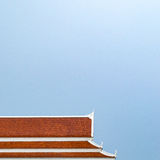 De tempeldak van Thailand Royalty-vrije Stock Fotografie