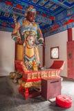 De Tempelkoning Kong van Zhenjiangjiaoshan Dinghui Royalty-vrije Stock Foto's