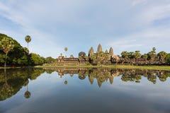 De tempelpagode van Angkorwat Stock Afbeelding