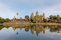 De tempelpagode van Angkorwat Stock Foto