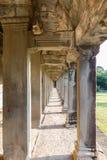 De tempelpagode van Angkorwat Stock Afbeeldingen
