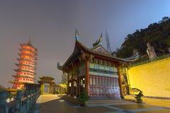 De Tempelpagode van het Gentingshoogland Stock Foto's