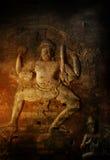 De tempels van Angkor wat in Kambodja Royalty-vrije Stock Afbeeldingen
