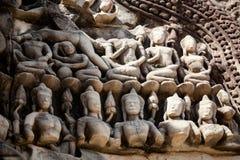 De tempels van Angkor wat in Kambodja Royalty-vrije Stock Fotografie