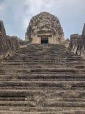 De Tempels van Angkorkambodja stock foto's