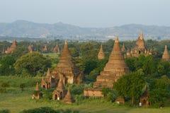 De Tempels van Bagan Stock Afbeelding