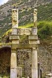 De tempels van Ephesus Stock Fotografie