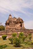De Tempels van Khajuraho, India Royalty-vrije Stock Afbeeldingen