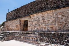 De tempels van Uxmal in Mexico stock afbeeldingen