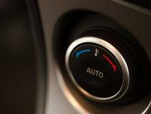 De temperatuurknop van de auto Royalty-vrije Stock Foto's