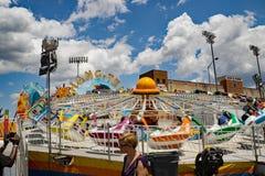""" de Ten†d'""""Hang appelé par tour de carnaval photo stock"""