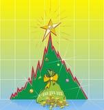 De Tendens van het nieuwjaar Stock Foto