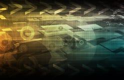 De Tendensen van de technologie Royalty-vrije Stock Afbeelding