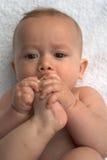 De Tenen van de baby Royalty-vrije Stock Foto's