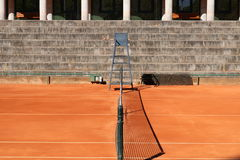 De tennisbaangang van Jamorportugal Stock Afbeeldingen