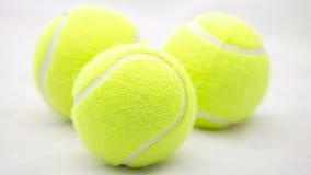De tennisbal Royalty-vrije Stock Foto's