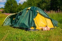 De tent Stock Fotografie