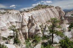 De tent schommelt Nationaal Monument, New Mexico royalty-vrije stock afbeeldingen